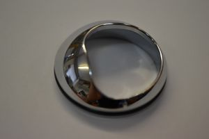CHROME CARTRIDGE COVER RING WITH SEAL